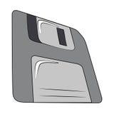 Floppy disk. Vector art floppy disk on white background Stock Photos