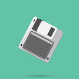 Floppy disk Vector Icon Royalty Free Stock Photography