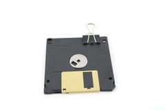 Floppy disk voor computer Royalty-vrije Stock Afbeeldingen
