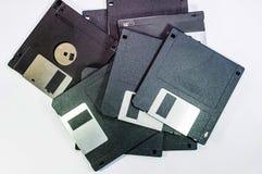 Floppy disk voor computergegevens Stock Afbeelding