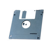Floppy disk on white background Royalty Free Stock Photography