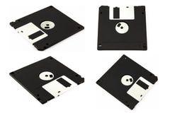 Floppy disk on white background Stock Photos