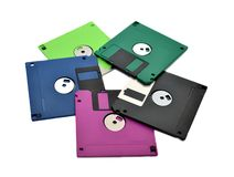 Floppy diskettes Stock Images