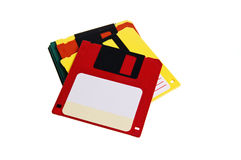 Floppy disks Stock Photo