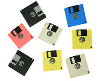 Floppy disks Stock Photos