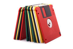 Floppy disks. Isolated on white Royalty Free Stock Photography