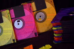 Floppy disks Stock Image