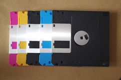 Floppy Disks. Royalty Free Stock Images