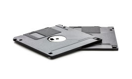 Floppy Disks. Isolated on white background Stock Photography