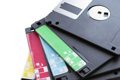 Floppy disks Stock Photos