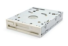 Floppy drive Stock Photo