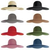 Floppy hat Stock Photo