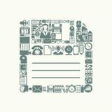 Floppy icon Stock Photo