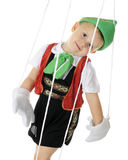 Floppy Living Puppet Royalty Free Stock Photos