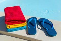 flops flip складывают заплывание вместе Стоковая Фотография