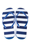 сандалии flops flip пляжа предпосылки изолированные иллюстрацией установили вектор белым Стоковое Изображение