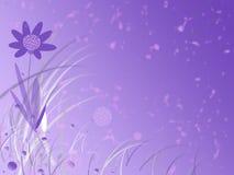 Flor à moda abstrata Imagem de Stock