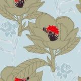 Flor à moda exótica Fotos de Stock Royalty Free