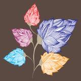 Flor ilustración del vector