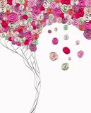 Flor abstracta ilustración del vector