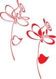 Flor abstracta Fotografía de archivo libre de regalías