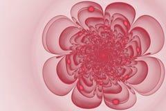 Flor abstracta del fractal Imagen de archivo libre de regalías