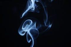 Flor abstracta del humo Foto de archivo libre de regalías