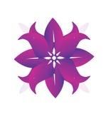Flor abstracta para el logotipo de las bodas Imágenes de archivo libres de regalías