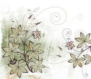 Flor abstrata Imagem de Stock Royalty Free