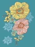 Flor abstrata Imagens de Stock Royalty Free