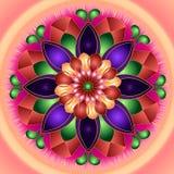 Flor abstrata Foto de Stock