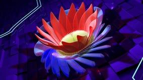 Flor abstrata Fotografia de Stock Royalty Free