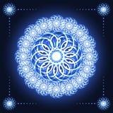 Flor abstrata do Fractal Imagens de Stock