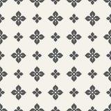 Flor abstrata do teste padrão sem emenda de quatro pétalas Imagem de Stock Royalty Free