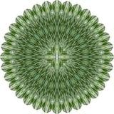 Flor abstrata verde. Imagem de Stock