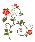 Flor adornada