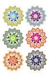 Grupo da flor Fotografia de Stock Royalty Free