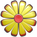 flor amarela abstrata   Fotos de Stock