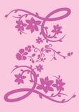 Flor & borboleta Fotografia de Stock Royalty Free