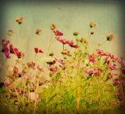 Flor artística antiquado Foto de Stock Royalty Free
