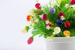 Flor artificial Imagens de Stock