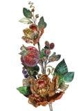 Flor artificial brilhante Foto de Stock Royalty Free