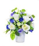 flor artificial da decoração imagem de stock