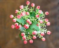flor artificial de la decoración fotografía de archivo