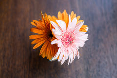 flor artificial de la decoración fotos de archivo libres de regalías