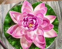 Flor artificial macro Imagem de Stock Royalty Free