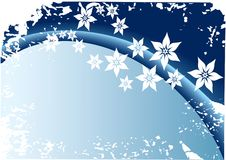Flor azul Imagens de Stock Royalty Free