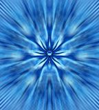 Flor azul místico Fotos de Stock Royalty Free