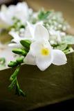 Flor blanca de la boda Fotografía de archivo libre de regalías