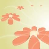 flor bonita do vetor da Olá!-tecnologia Imagem de Stock Royalty Free